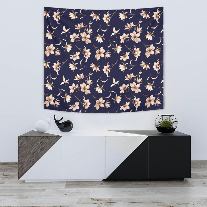Beautiful Floral Pattern Tapestry