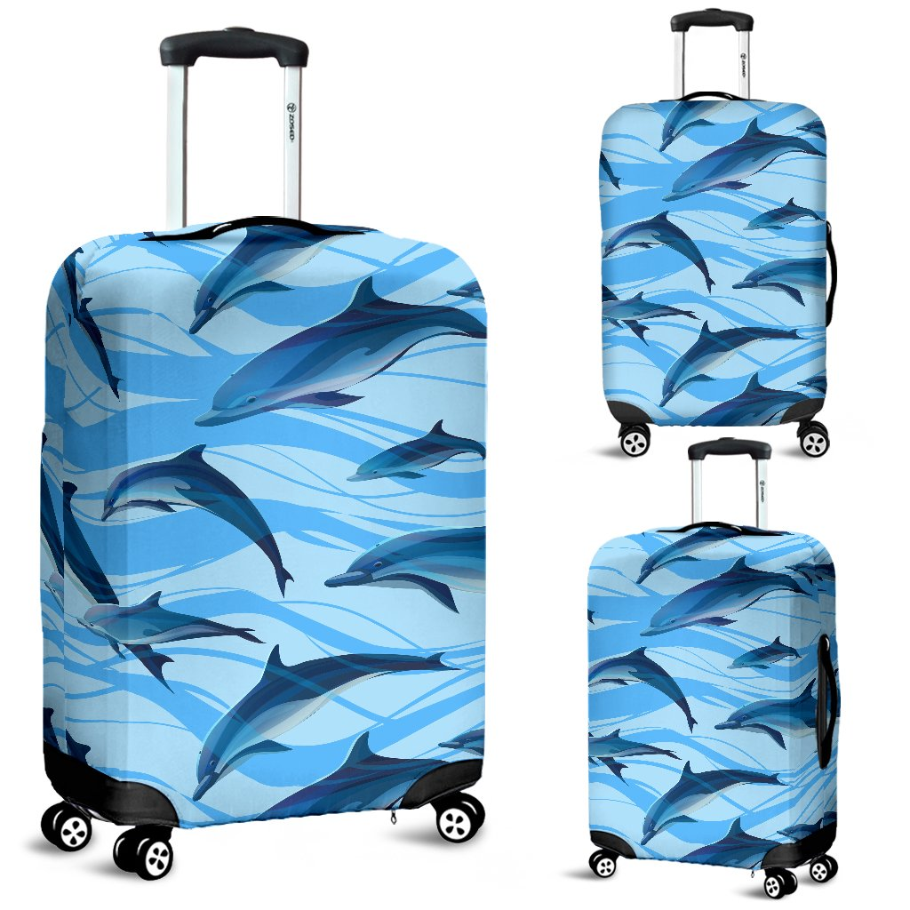 Blue Dolphin Luggage Cover Protector