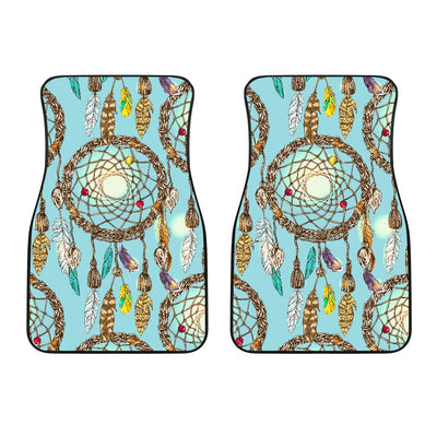 Blue Dream catcher Car Floor Mats