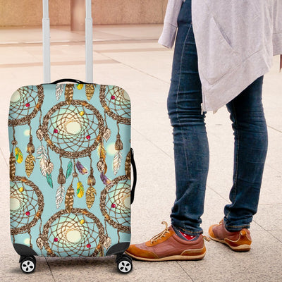 Blue Dream catcher Luggage Cover Protector