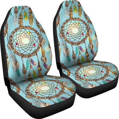 Blue Dream catcher Universal Fit Car Seat Covers