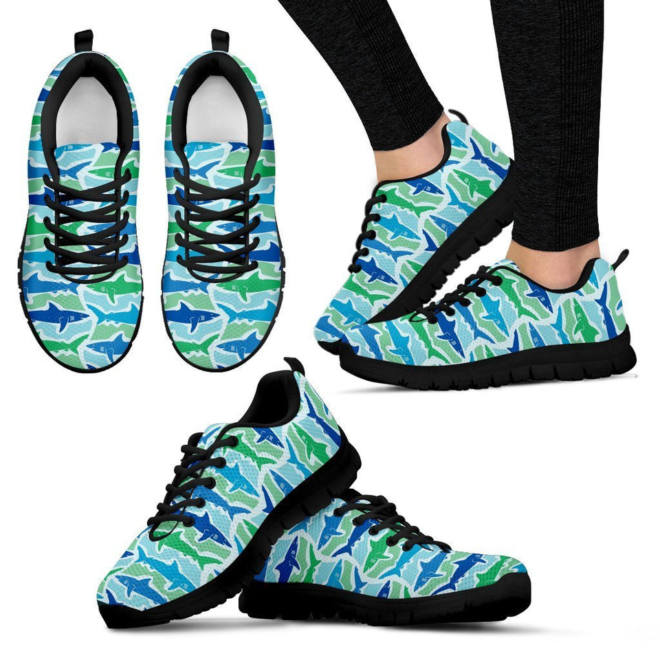 Blue Sharks Women Sneakers