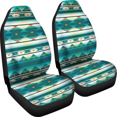 Blue Tribal Aztec Universal Fit Car Seat Covers