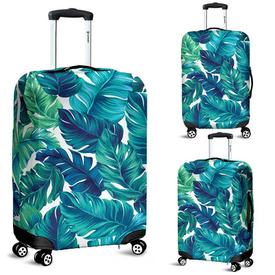 Brightness Tropical Palm Leaves Luggage Protective Cover