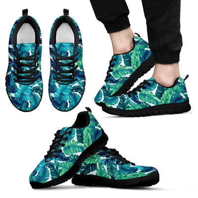 Brightness Tropical Palm Leaves Men Sneakers