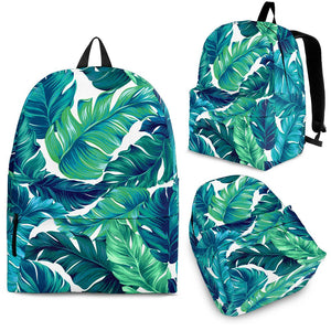 Brightness Tropical Palm Leaves Premium Backpack