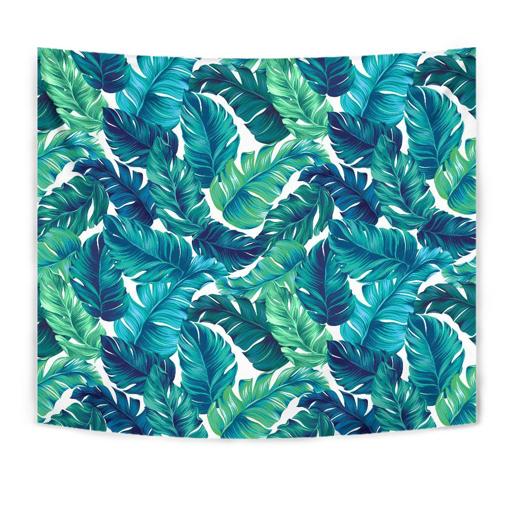 Brightness Tropical Palm Leaves Tapestry