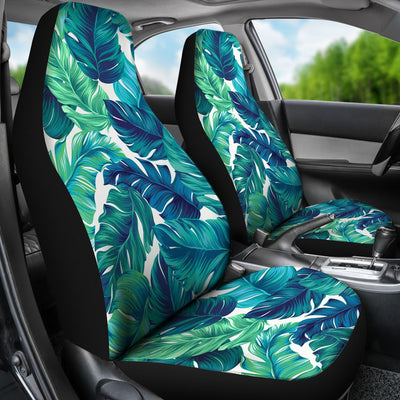 Brightness Tropical Palm Leaves Universal Fit Car Seat Covers