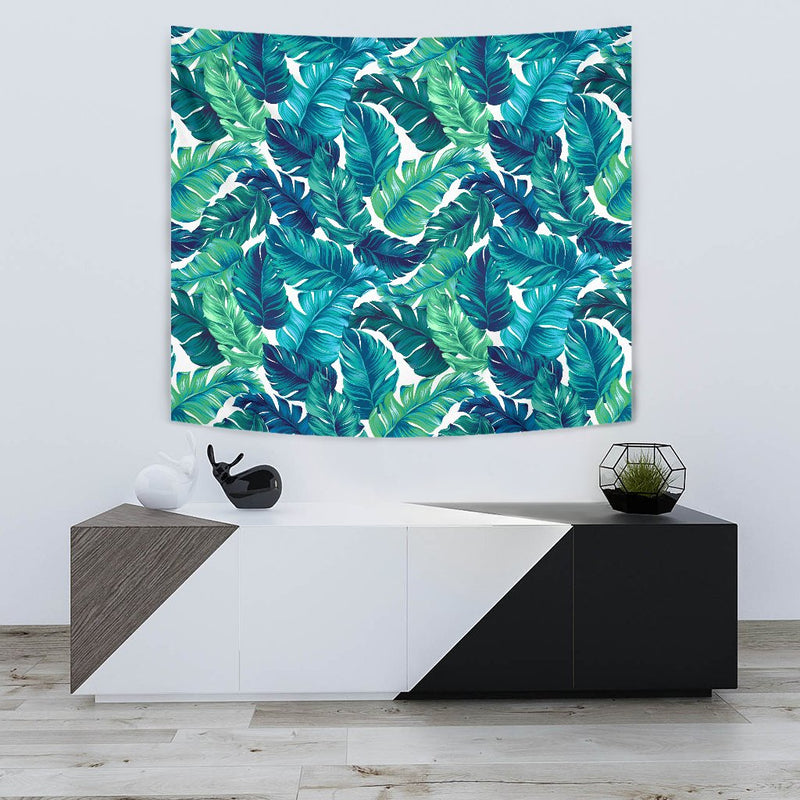 Brightness Tropical Palm Leaves Wall Tapestry