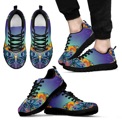 Butterfly Art Colorful Men Sneakers