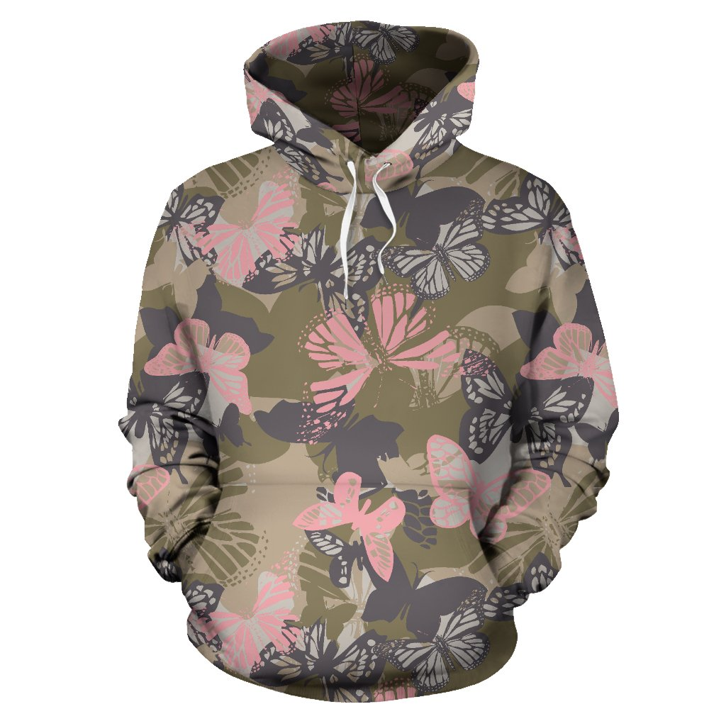 Butterfly camouflage All Over Print Hoodie