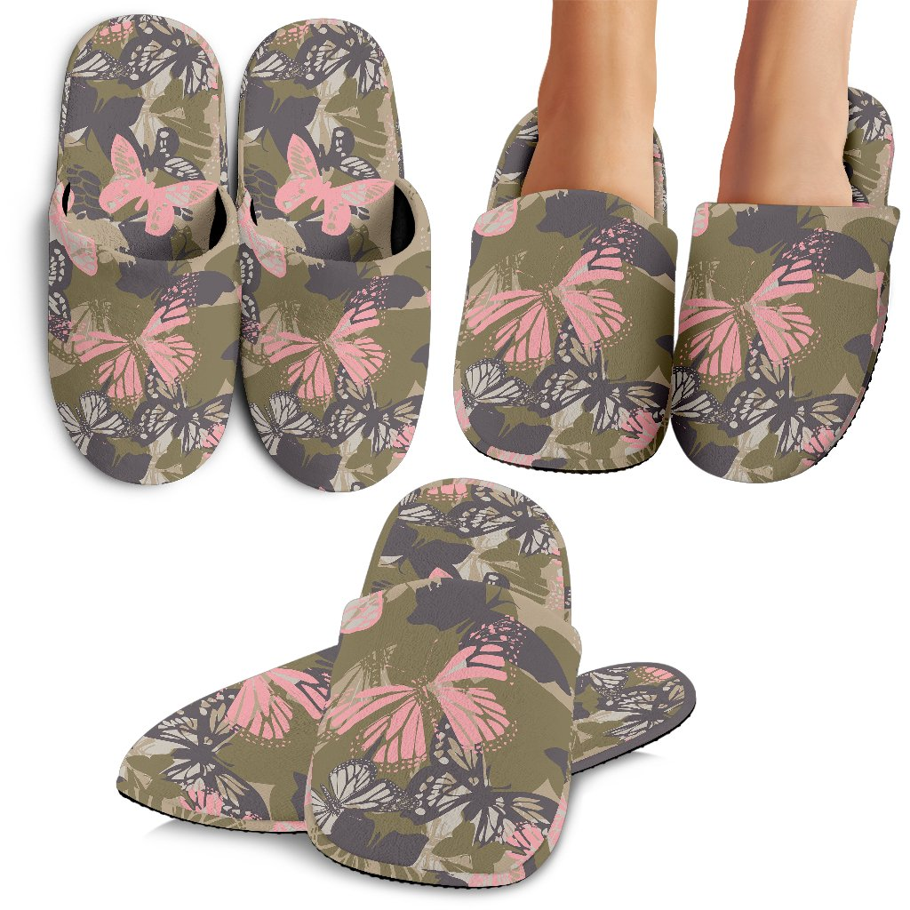 Butterfly Camouflage Slippers