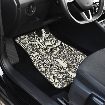 Butterfly Car Floor Mats