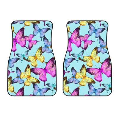 Butterfly Colorful Car Floor Mats