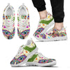 Butterfly Colorful Indian Style Men Sneakers