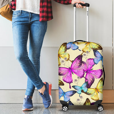 Butterfly Colorful Luggage Cover Protector
