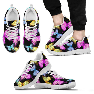 Butterfly Colorful Men Sneakers