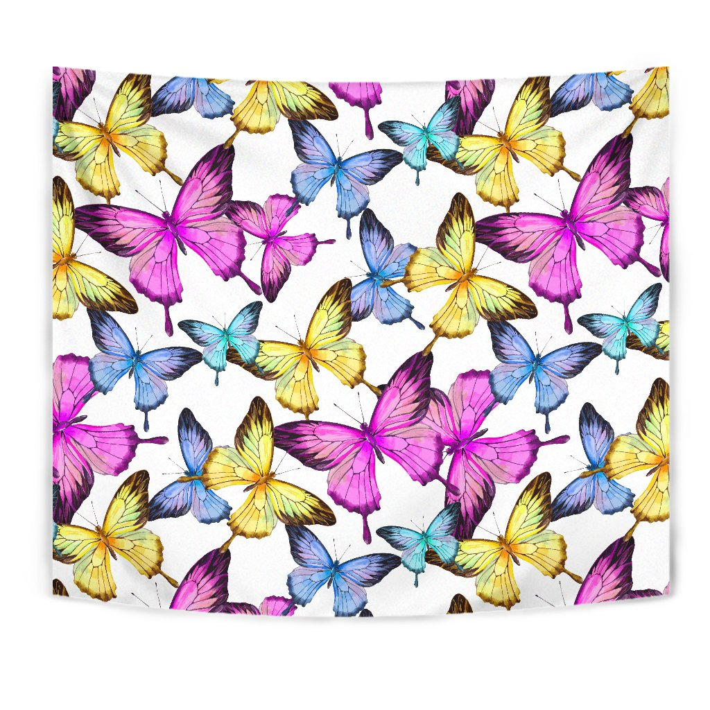 Butterfly Colorful Wall Tapestry