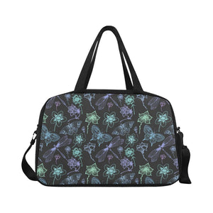 Butterfly Dragonfly Crossbody Travel Bag