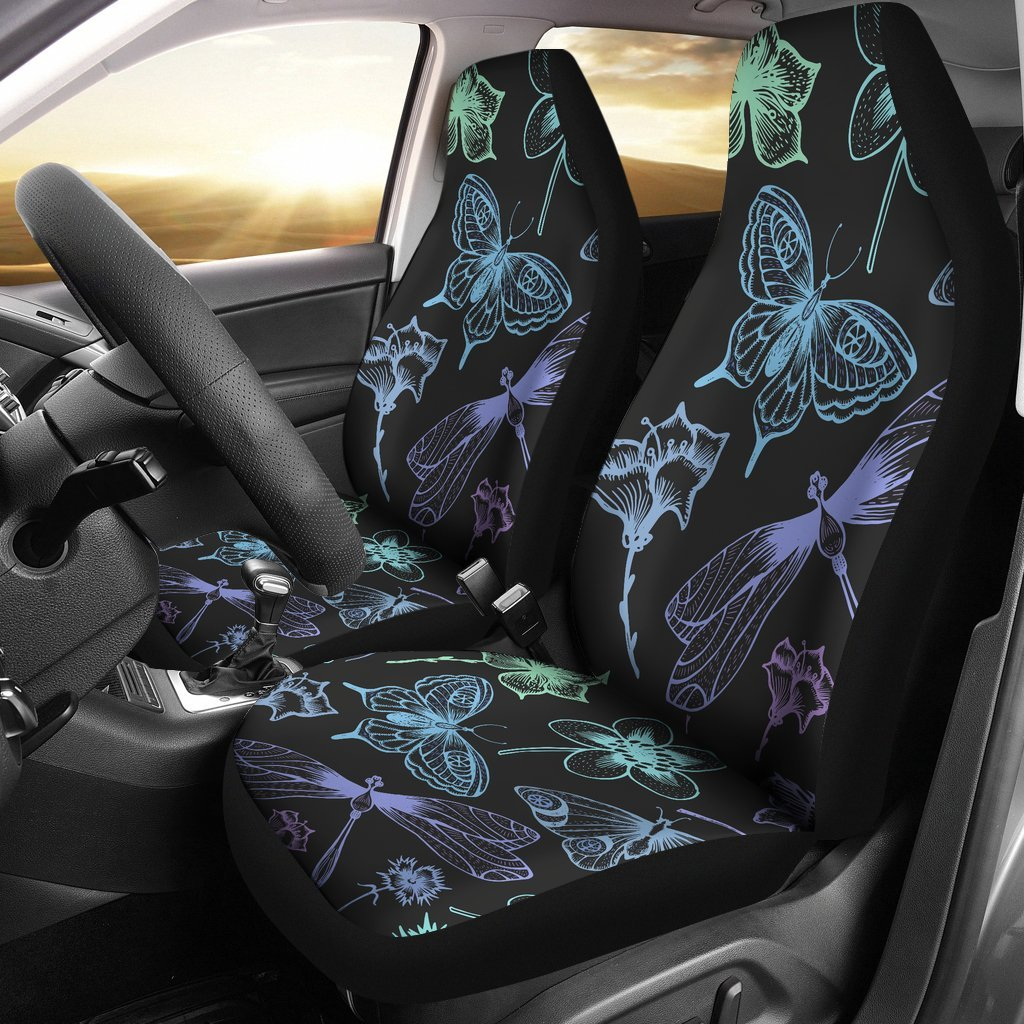 babfcccd7ca4 Butterfly Dragonfly Universal Fit Car Seat Covers – JorJune