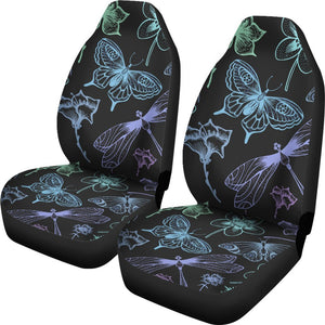 Butterfly Dragonfly Universal Fit Car Seat Covers