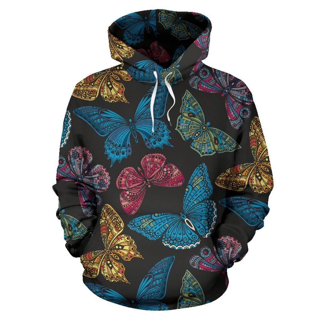 Butterfly All Over Print Hoodie