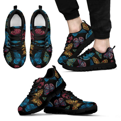 Butterfly Mandala Style Men Sneakers