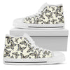 Butterfly Men High Top Canvas Shoes