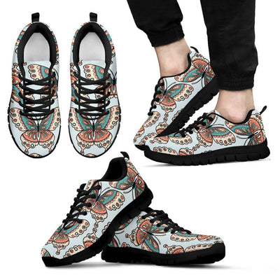 Butterfly Pattern Men Sneakers