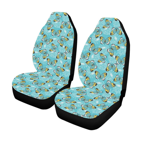 Butterfly Pattern Print Design 010 Car Seat Covers (Set of 2)-JORJUNE.COM