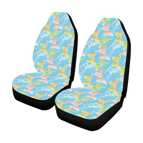 Butterfly Pattern Print Design 05 Car Seat Covers (Set of 2)-JORJUNE.COM