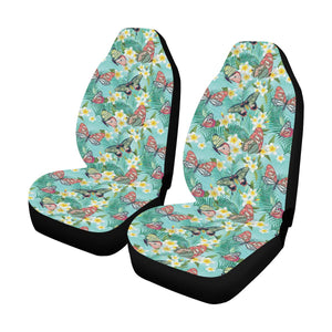Butterfly Pattern Print Design 09 Car Seat Covers (Set of 2)-JORJUNE.COM