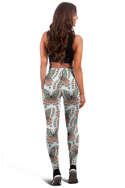 Butterfly Pattern Women Leggings