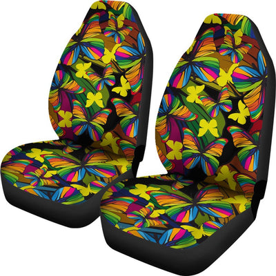 Butterfly Rainbow Universal Fit Car Seat Covers