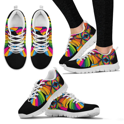 Butterfly Rainbow Women Sneakers