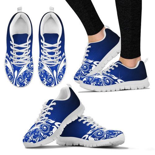 Butterfly Tribal Women Sneakers