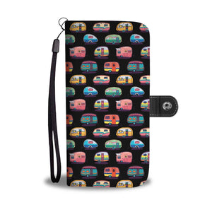 camper camping Wallet Phone Case