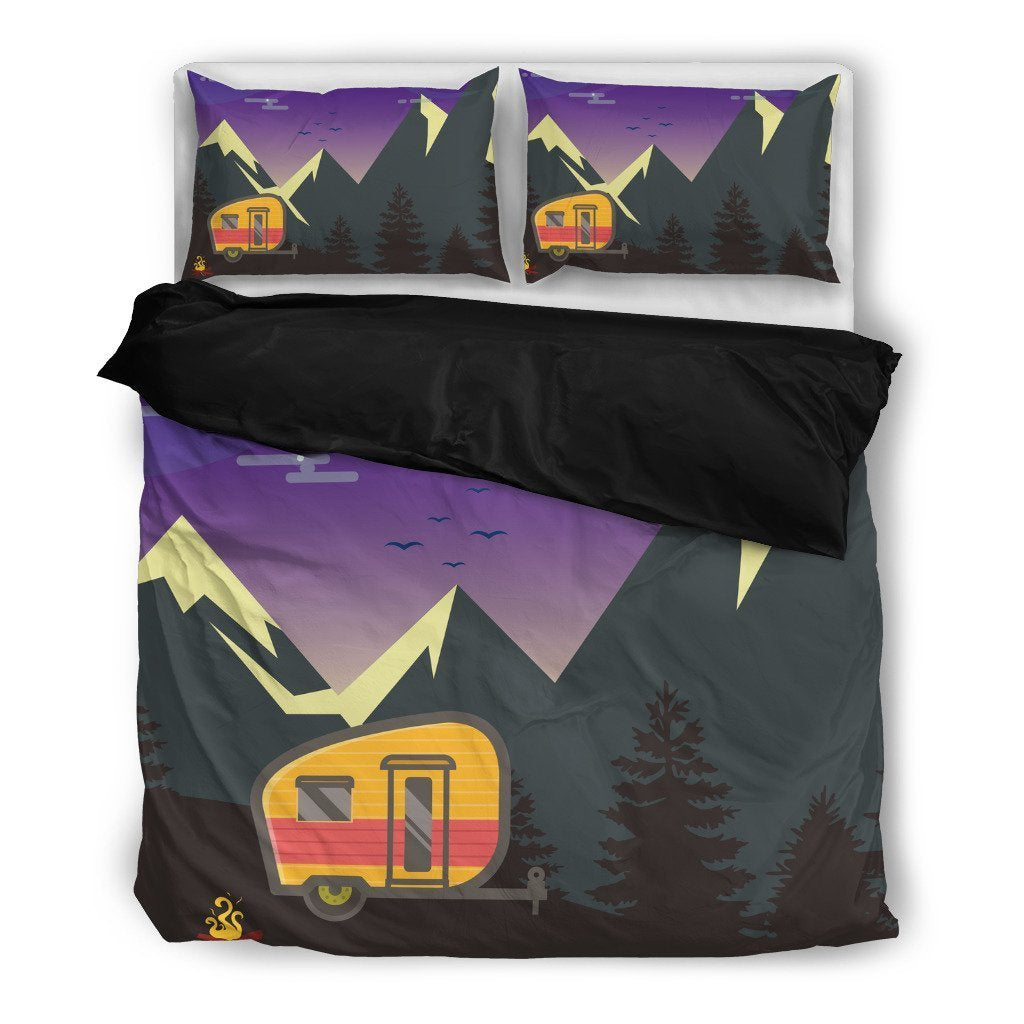 Camper Caravan Duvet Cover Bedding Set