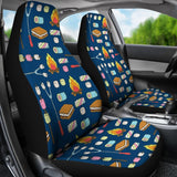 Campfire Camping Universal Fit Car Seat Covers