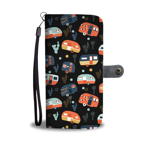 Camping funny camper Wallet Phone Case