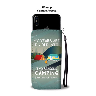 Camping Season Wallet Phone Case