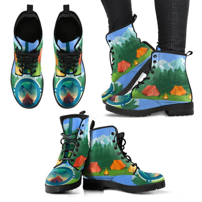 Camping Tent Women & Men Leather Boots