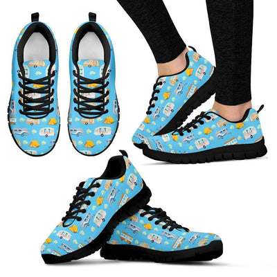 Camping Time camper tent Women Sneakers