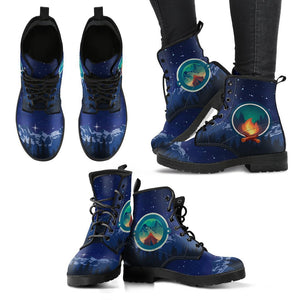 Camping Women & Men Leather Boots
