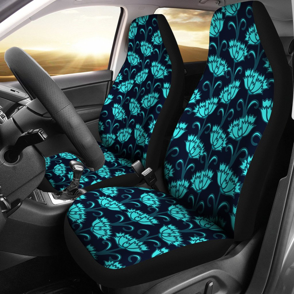 Carnations Pattern Print Design CN06 Universal Fit Car Seat Covers