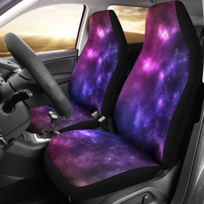 Celestial Purple Blue Galaxy Universal Fit Car Seat Covers