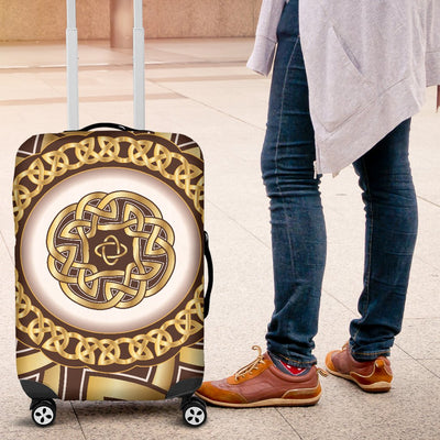 Celtic Gold Luggage Cover Protector