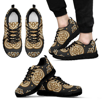Celtic Print Men Sneakers