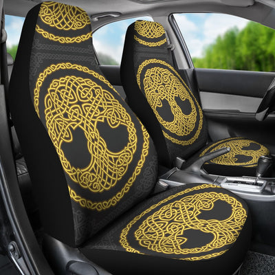 Celtic Tree of Life Design Universal Fit Car Seat Covers