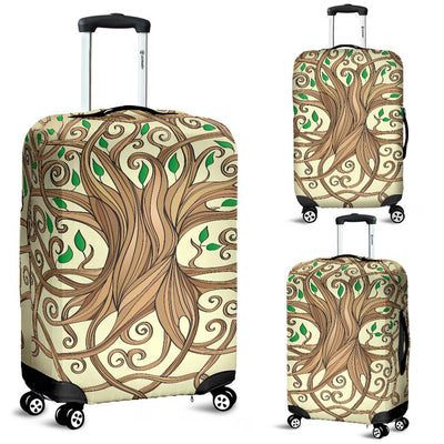 Celtic Tree of life Luggage Cover Protector